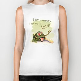 I am hungry for your love Biker Tank