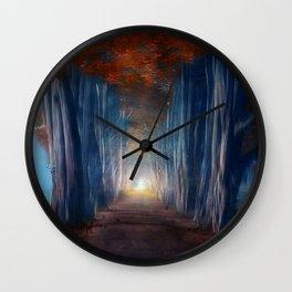 Dreams come true. Wall Clock
