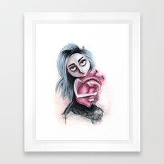 Going to be gone Framed Art Print