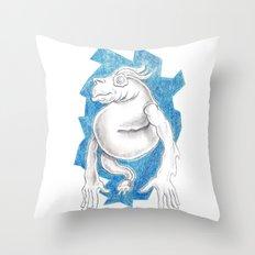 Eggeye Throw Pillow
