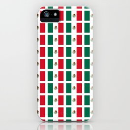 Flag of mexico 2- mexico,mexico city,mexicano,mexicana,latine,peso,spain,Guadalajara,Monterrey iPhone Case