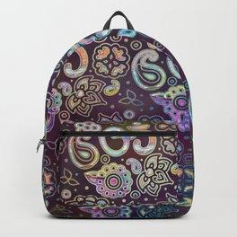Sweet watercolor pastel  OM symbol pattern Backpack