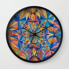 Mandala 2012 Wall Clock