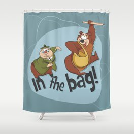Humphrey and the Ranger Shower Curtain