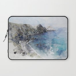 Big Sur Pacific Ocean Print Laptop Sleeve