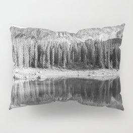 Reflection River (Black and White) Pillow Sham