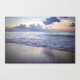 Antigua Sunset Canvas Print