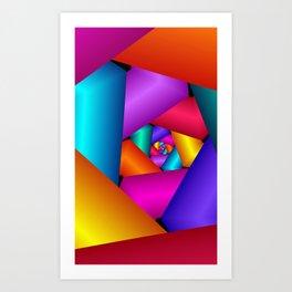 fractal geometry -123- Art Print