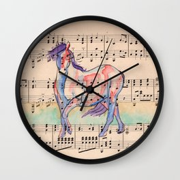 Peace is Declared Wall Clock