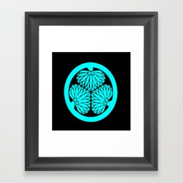 Lone Wolf and Cub Crest Framed Art Print