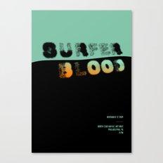 Surfer Blood Canvas Print