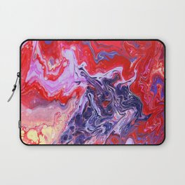 Red and Purple Cosmos Laptop Sleeve