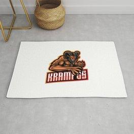 Krampus Esport Mascot Logo Template Rug