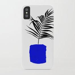 Blue Pot iPhone Case