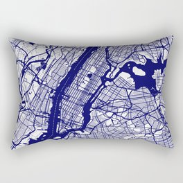 New York City Map 02 Rectangular Pillow