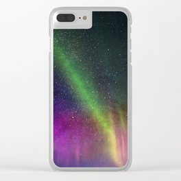 Make a Wish on a Shooting Star Clear iPhone Case