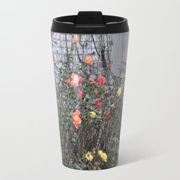 Colorful Roses Travel Mug