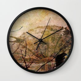 Dreams of Yesterday Wall Clock