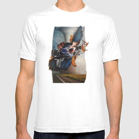 Restless Spirit   Collage T-shirt