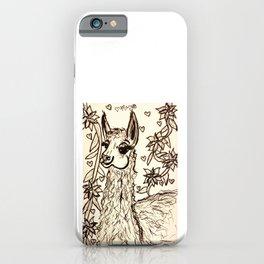 Lovely Llama iPhone Case