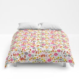 Toadstools and mushro Comforters