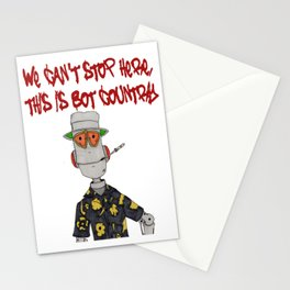This is Bot Country!! Stationery Cards