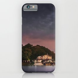 Small Hotel on the lake iPhone Case