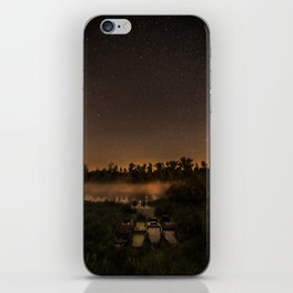 Perseid night iPhone Skin