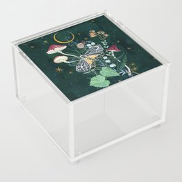 Mushroom night moth Acrylic Box