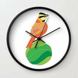 Comemaiz on a pear Wall Clock