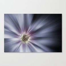 Blue Satin Canvas Print