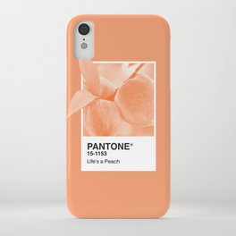 Pantone Series – Peach #2 iPhone Case