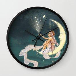 It's In The Stars – Gypsy Moon Wall Clock