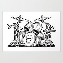 Drummer Art Prints | Society6