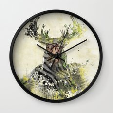 I'm The Source Wall Clock