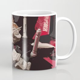 Gundam Aile Strike Digital Painting Coffee Mug