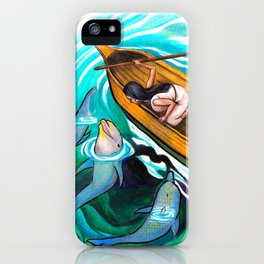 Island of the Blue Dolphins iPhone Case