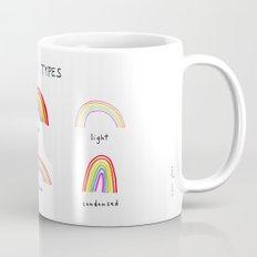 rainbow types Mug
