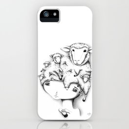 Merino Mutation iPhone Case