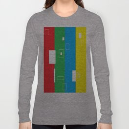 Simple Color Long Sleeve T-shirt