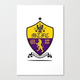 Mustard Tigers FC 2 alt. Canvas Print