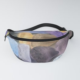 New England beach glass ultraviolet Fanny Pack