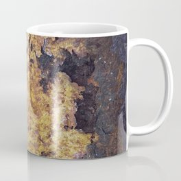 Rusty Metal Abstract Texture Coffee Mug