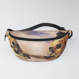 Vivid Retro - Fight over a herring Fanny Pack