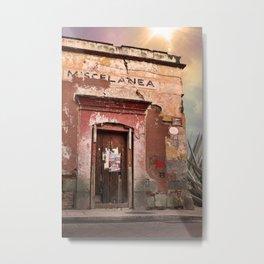 Oaxaca Style Metal Print