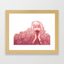 You took my heart...  Framed Art Print