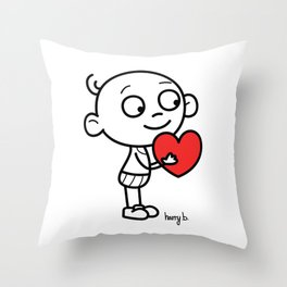 Love - by Harry B - Throw Pillow