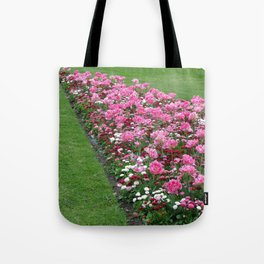 English Flower Beds Tote Bag