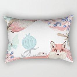 Vintage spring Rectangular Pillow