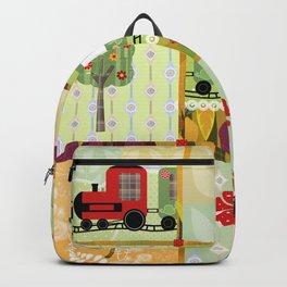Children's Dominoes. Cubes. Backpack